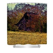 Barn And Diamond Reo-featured In Barns Big And Small Group Shower Curtain