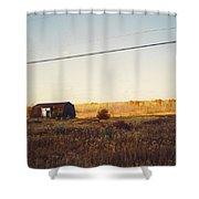 Barn And Landscape Shower Curtain