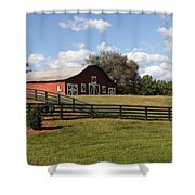 Barn At Yonah Mountain Winery 001 Shower Curtain