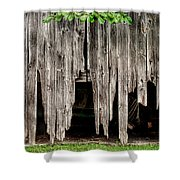 Barn Boards - Rustic Decor Shower Curtain