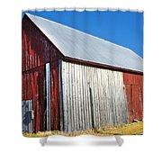Barn By Side Of Road Shower Curtain