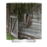 Barn - Carthage Missouri Shower Curtain