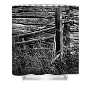 Barn Edge  Shower Curtain