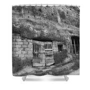 Barn In Anghiari Shower Curtain