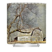 Barn - Missouri's Backroads Shower Curtain