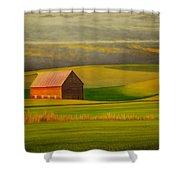 Barn On The Palouse Shower Curtain