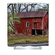Barn - Seen Better Days Shower Curtain