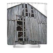 Barn Side Shower Curtain