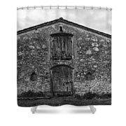Barn Sienna Shower Curtain by Hugh Smith