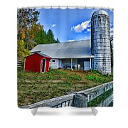 Barn - The Old Horse Shower Curtain