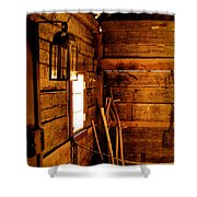 Barn Tools Shower Curtain