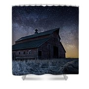 Barn V Shower Curtain