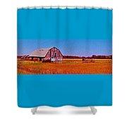 Barn Van Dyke Shower Curtain