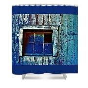 Barn Window 1 Shower Curtain