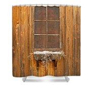 Barn Window 3348 Shower Curtain