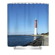 Barnegat Light - New Jersey Shower Curtain