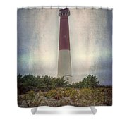 Barnegat Lighthouse Dawn Shower Curtain