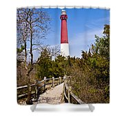 Barnegat Lighthouse II Shower Curtain