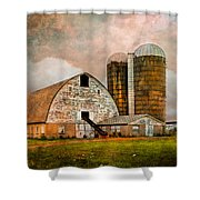 Barns In The Country Shower Curtain