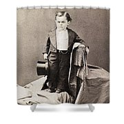 Barnum Admiral Dot, C1870 Shower Curtain