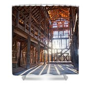 Barnwood Cathedral Shower Curtain