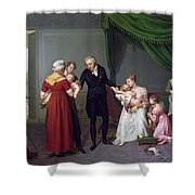 Baron Jean Louis Alibert Shower Curtain