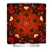 Baroque Christmas 2012 Shower Curtain
