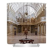 Baroque Library  Shower Curtain