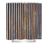 Barred Shower Curtain