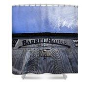 Barrel House One Shower Curtain