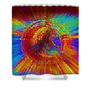 Barrel Roll Shower Curtain