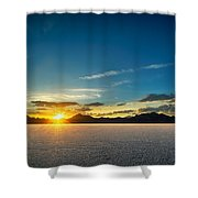 Barren Valley Shower Curtain