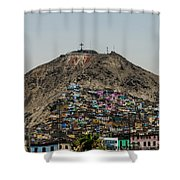 Barrio In Lima Shower Curtain