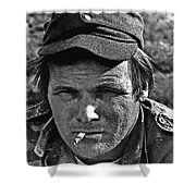 Barry Sadler The Green Berets Homage 1968 Tucson Arizona 1971-2008 Shower Curtain