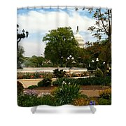 Bartholdi Fountain Shower Curtain