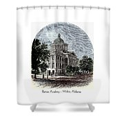 Barton Academy - Mobile Alabama Shower Curtain