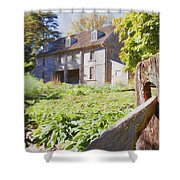 Bartrams Fence Shower Curtain