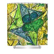 Basant I Shower Curtain