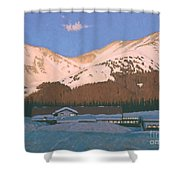 Base Area Shower Curtain