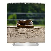 Baseball - America's Game Shower Curtain