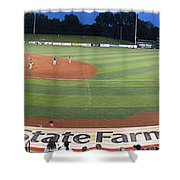 Baseball America's Past Time Shower Curtain