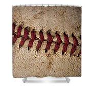 Baseball - America's Pastime Shower Curtain
