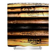 Baseball Bats Shower Curtain