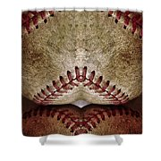Baseball Eros Shower Curtain