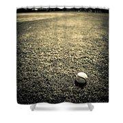 Baseball Field 3 Shower Curtain