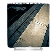 Baseball Field 6 Shower Curtain