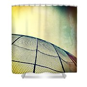 Baseball Field 8 Shower Curtain