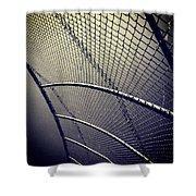 Baseball Field 9 Shower Curtain