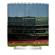 Baseballs Hollowed Ground Shower Curtain