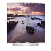 Basham Twilight Shower Curtain
